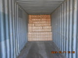 Guantes revestidos Dnn334 de la seguridad del nitrilo de nylon anaranjado
