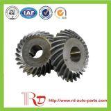 Винтовая зубчатая передача зубчатого колеса коробки передач автозапчастей для различного машинного оборудования