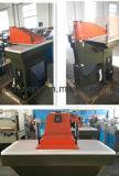 Neuer kleiner hydraulischer Schwingen-Arm-lederne stempelschneidene Druckerei-Maschine