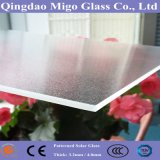 vetro basso di vetro rivestito Tempered del comitato solare del ferro di 3.2mm AR