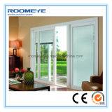 Roomeye Facile-A installé les portes coulissantes en aluminium en aluminium de portes extérieures de garantie (RMSD-10)