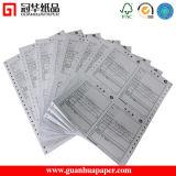 """Papel continuo de la computadora de calidad superior """" X11 """" de la ISO 9.5"""