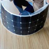 Панель солнечных батарей высокой эффективности Semi гибкая от Китая 100W