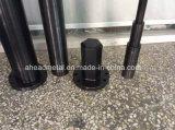 Черные части окиси, часть CNC высокой точности