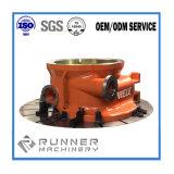Piezas que trabajan a máquina trabajadas a máquina CNC de bronce de cobre modificadas para requisitos particulares del CNC del acero de carbón del metal de la aleación
