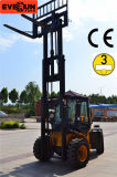 Euroiii Engineの4X4 Forklift 3.5 Tons Roughの地勢Forklift Truck