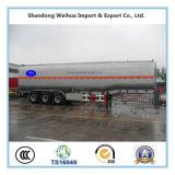 De de hete Olie van Saling 50000L/Tanker van de Brandstof van Semi Aanhangwagen