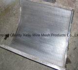 El panel del abrigo del alambre de la placa de tamiz de la mina de la pantalla de la curva del tamiz