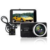 FHD 1296p Novatec 2の二重カメラ車の手段DVR HD 1080P車のカメラDVRのビデオレコーダー車のダッシュカムH400