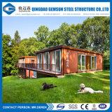 低価格の組立て式に作られた容器の家の流行の家具デザイン金属の二段ベッド