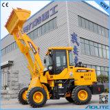 Lader van het Wiel van de Lader van het Wiel van China 1ton de Kleine Hydraulische voor Verkoop