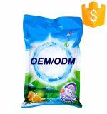 Polvo del detergente de lavadero del bulto de la marca del OEM de la fábrica