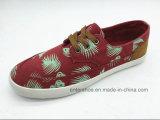 蛍光緑の低い上の人および女性の余暇の靴(ET-LH160316M)