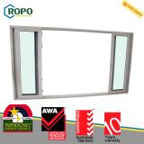 Дверь сползая стекла следа UPVC анти- вызревания Multi пластичная