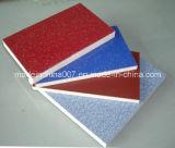 Materiales de construcción coloridos revestidos ULTRAVIOLETA de la decoración de la tarjeta del MGO
