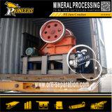 Дробилка оптового утеса минеральная обрабатывая фабрику машины добычи золота машинного оборудования