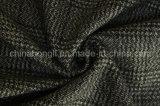 Poli / rayón hilado teñido de tela, tela escocesa, 230gsm