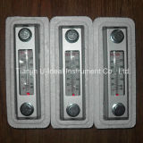 Indicateur de niveau de l'huile en verre de vue avec le thermomètre