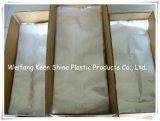 Saco de plástico feito sob encomenda desobstruído do fechamento do fecho de correr