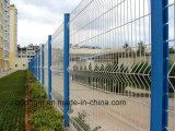 Cerca revestida Dehong-Soldada del PVC de la cerca del acoplamiento de alambre/cerca del jardín