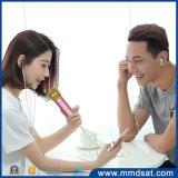 De Karaoke die van Bluetooth van Mmd027 Draadloze Microfoon registreert