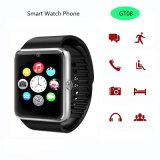 Pantalla táctil Bluetooth inteligente reloj del regalo con G-Sensor (GT08)