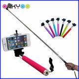 Vara sem fio por atacado de Monopod Selfie do telefone móvel de Bluetooth