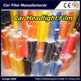 Цвет автомобиля светлый изменяя оборачивающ пленку 0.3m*9m подкраской фары
