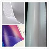 Bandeira fria do PVC do cabo flexível da laminação da tela quente lisa super