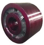 Rolo de sustentação para a estufa giratória e o secador