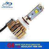 faro auto del kit 9006 30W 3200lm LED de la conversión de los bulbos de la linterna del coche LED de 6000k G3 para la bombilla de niebla del frente del coche en 2017