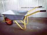 Ferramentas usadas para o carrinho de mão de roda da construção de Buliding
