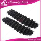 マレーシアのバージンの毛ボディ波3/4/5bundlesの人間の毛髪の拡張束が付いている閉鎖のレースの閉鎖が付いているマレーシアの毛のよこ糸
