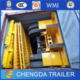 3 Radachse 40-60ton Heavy Loading Side Wall Trailer