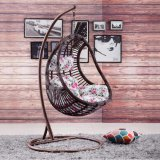 Balanço ao ar livre novo, mobília do Rattan, cadeira de suspensão D014 do balanço do Rattan da cesta do Rattan