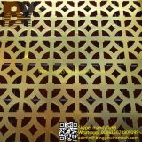 PVC Coated Perforated Wire Mesh per Decoration