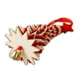 Ornamento de suspensão da árvore de Natal de feltro com a Bell no estoque