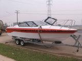 Aqualand 25feet 7.6m Fiberglass Speed Boat/Passenger Boat/Patrol Boat (760)