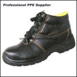 Обувь техники безопасности на производстве стального пальца ноги и стальной плиты