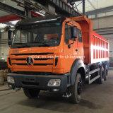 Beiben 아프리카에 있는 북쪽 벤츠 6X4 380HP 팁 주는 사람 트럭 가격