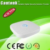 Gravador de vídeo NVR da rede do IP do CCTV de 8 canaletas
