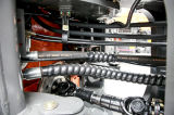 Carregador famoso 3ton da roda do Ensign da máquina com a cubeta 1.8m3