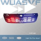 Indicatore luminoso rosso della griglia dell'azzurro LED