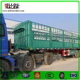 3 rimorchio del camion della Ton Van Cargo Stake degli assi 60