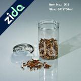 يخلو [750مل] بلاستيكيّة الطبّ يعيد زجاجة [فوود غرد] الطبّ زجاجة