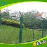 Coated сваренная гальванизированная проволочной изгородью разделительная стена PVC