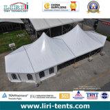 党、結婚式のための最も高いピークの玄関ひさしのための最も高いピークのテント