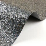 3D Chunky Glitter Fabric PVC Rexine Leather für Wallpapers, Bags, Shoes, Uphosltery