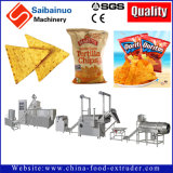 Linha de produção das microplaquetas de milho de Doritos que faz a máquina