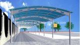 Garage della struttura d'acciaio/tettoia veicolo di trasporto del metallo